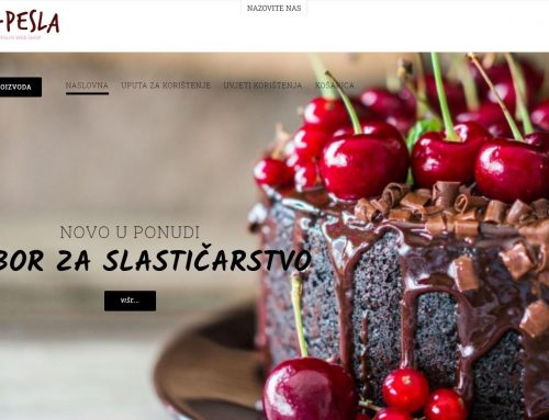 Novi webshop